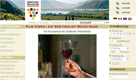 Imagefilm Südtiroler Weinstraße