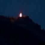 Herz-Jesu-Feuer im Süden Südtirols