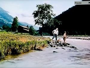 Bachstelle aus dem Film: Mein Schatz ist aus Tirol
