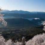 weisshorn und schwarzhorn im winter