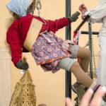 Alt-Weibele Kinder Egetmann Umzug in Tramin
