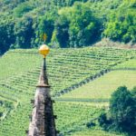 Kirchturmspitze Tramin