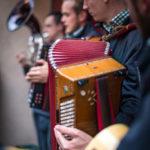 Musikanten auf dem Traminer Weingassl