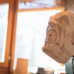 Krampusmaske (Holzschnitzer Walter Maffei)