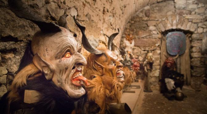 Krampusmasken Ausstellung